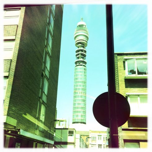 Need help finding us - aim for the BT Tower
